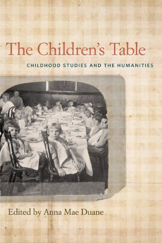 Children's Table Childhood Studies and the Humanities  2013 edition cover