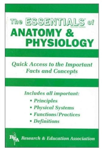 Anatomy and Physiology Essentials   1994 9780878919222 Front Cover