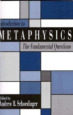 Introduction to Metaphysics The Fundamental Questions N/A edition cover
