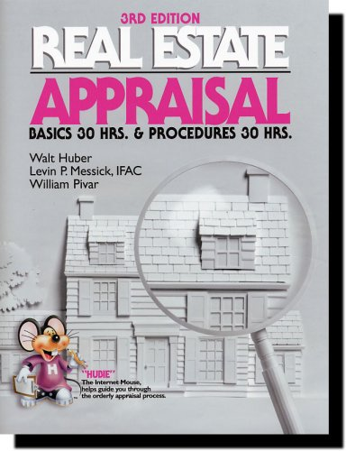 Real Estate Appraisal Basics and Procedures 3rd 2006 edition cover