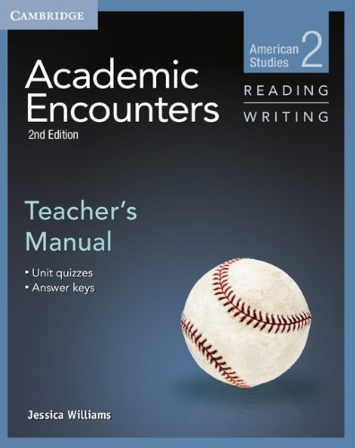 ACADEMIC ENCOUNTERS LEVEL 2 TEACHER'S MANUAL READING AND WRITING 2ND EDITION  2nd 2013 9781107627222 Front Cover
