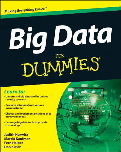 Big Data for Dummies   2013 edition cover