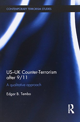 US-UK Counter-Terrorism After 9/11 A Qualitative Approach  2014 9781138940222 Front Cover