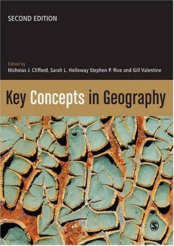 Key Concepts in Geography  2nd 2009 edition cover