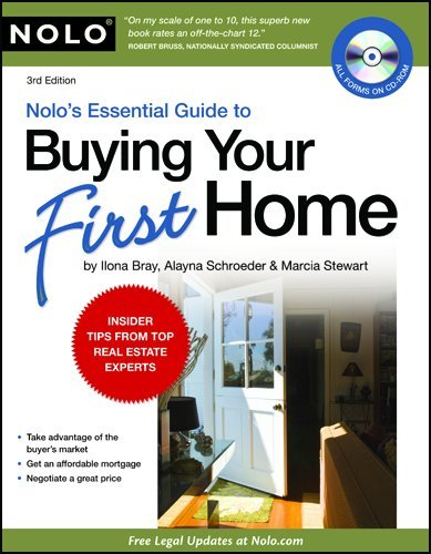 Nolo's Essential Guide to Buying Your First Home  3rd 2010 (Revised) edition cover