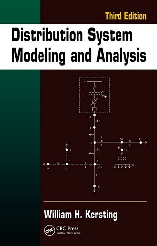 Distribution System Modeling and Analysis  3rd 2012 (Revised) edition cover