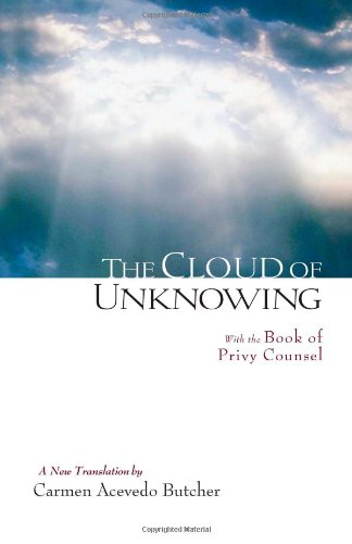 Cloud of Unknowing A New Translation  2009 edition cover