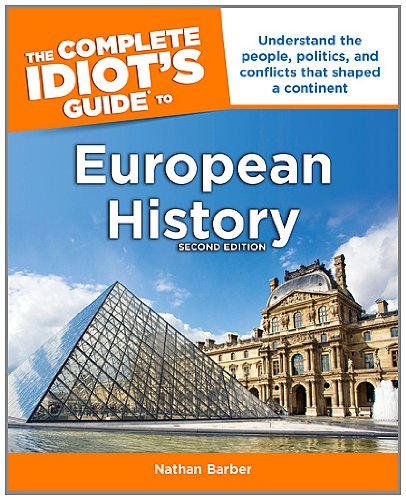 Complete Idiot's Guide to European History  2nd edition cover