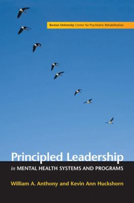 Principled Leadership in Mental Health Systems and Programs N/A edition cover