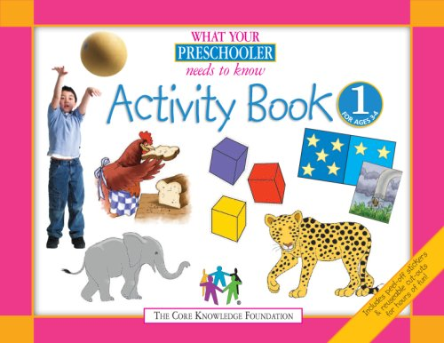 What Your Preschooler Needs to Know Activity Book 1 : For Ages 3-4, Weeks 1-25  2008 edition cover