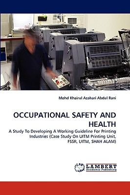 Occupational Safety and Health N/A 9783838387222 Front Cover