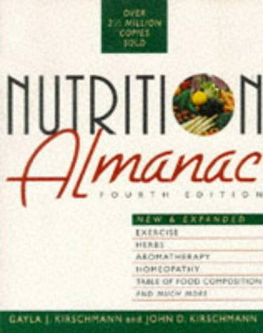 Nutrition Almanac  4th 1996 edition cover