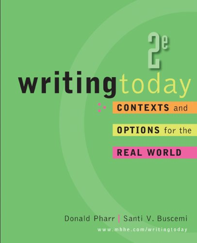 Writing Today  2nd 2009 edition cover