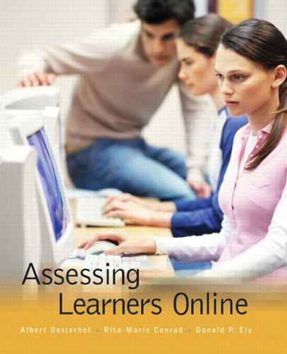 Assessing Learners Online   2008 edition cover
