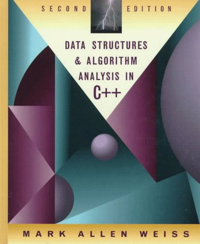 Data Structures and Algorithm Analysis in C++  2nd 1999 9780201361223 Front Cover