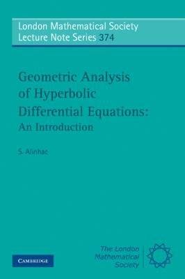 Geometric Analysis of Hyperbolic Differential Equations: an Introduction   2010 9780521128223 Front Cover