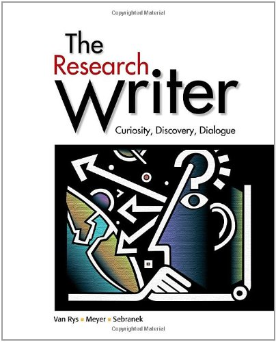 Research Writer   2012 edition cover