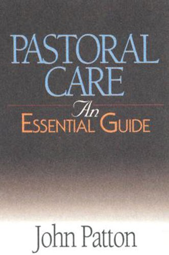 Pastoral Care An Essential Guide  2005 edition cover