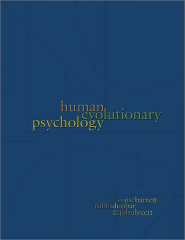 Human Evolutionary Psychology   2002 edition cover