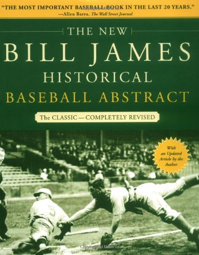 New Bill James Historical Baseball Abstract   2003 edition cover