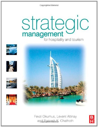 Strategic Management For Hospitality and Tourism  2010 edition cover