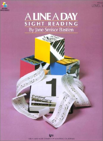 LINE A DAY SIGHT READING LEVEL 1st edition cover