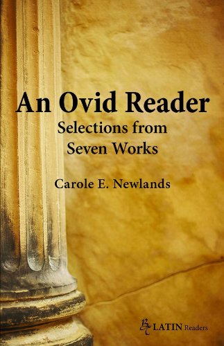 An Ovid Reader: Selections from Six Works  2013 edition cover