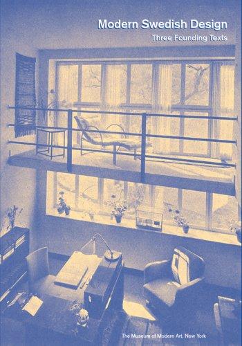 Modern Swedish Design Three Founding Texts  2008 edition cover
