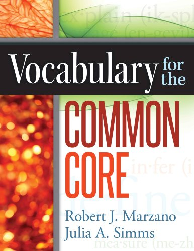 Vocabulary for the Common Core:   2013 edition cover