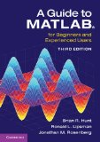 Guide to MATLAB For Beginners and Experienced Users 3rd 2014 (Revised) 9781107662223 Front Cover