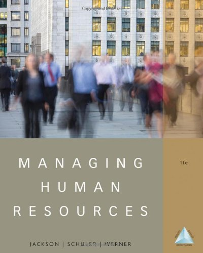 Managing Human Resources  11th 2012 9781111580223 Front Cover