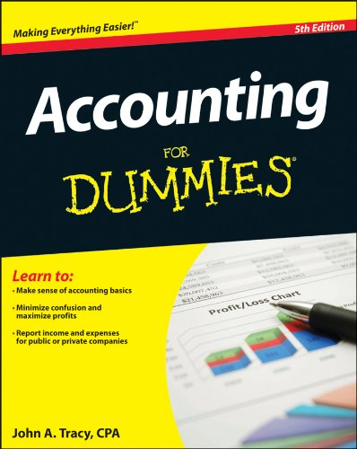Accounting for Dummies�  5th 2013 edition cover
