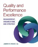 Quality & Performance Excellence:   2016 9781305662223 Front Cover