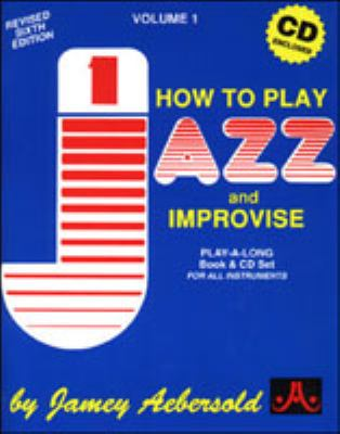 How to Play Jazz & Improvise: All Instruments  1967 edition cover