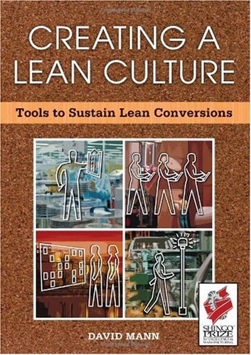 Creating a Lean Culture Tools to Sustain Lean Conversions  2005 9781563273223 Front Cover