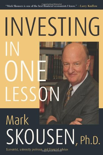 Investing in One Lesson   2007 edition cover