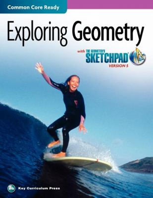 EXPLORING GEOMETRY-W/SKETCHPAD N/A edition cover