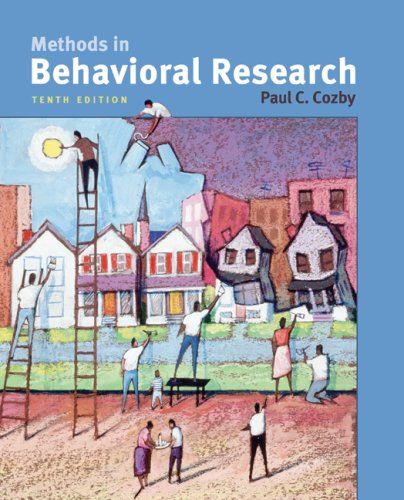 Methods in Behavioral Research  10th 2009 edition cover