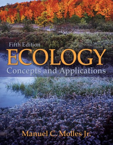 Ecology Concepts and Applications 5th 2010 edition cover