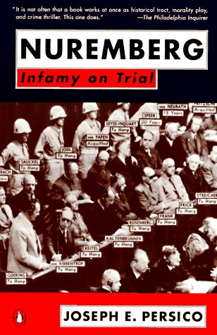 Nuremberg Infamy on Trial  2000 edition cover