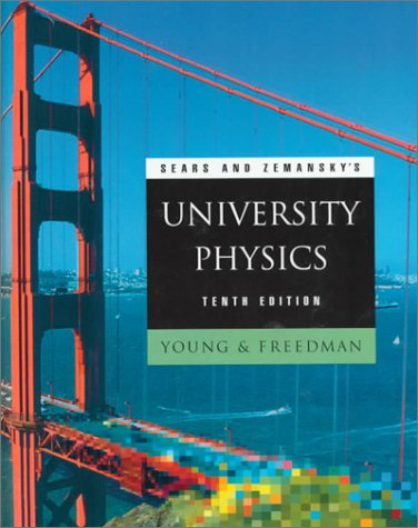 University Physics  10th 2000 (Student Manual, Study Guide, etc.) edition cover