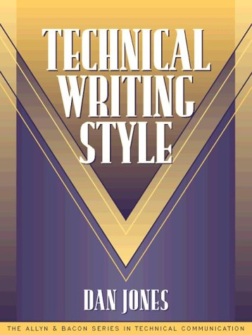 Technical Writing Style   1998 edition cover