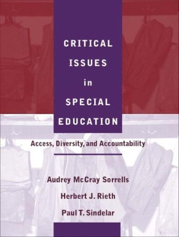 Critical Issues in Special Education Access, Diversity, and Accountability  2004 edition cover