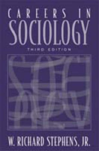 Careers in Sociology  3rd 2004 edition cover