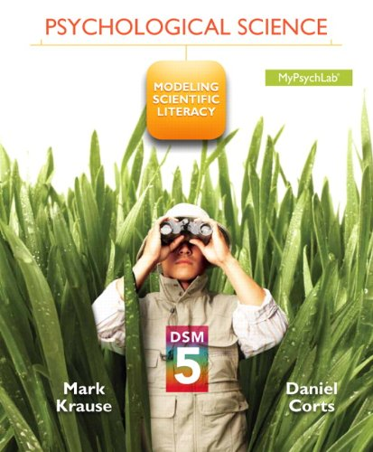 Psychological Science Modeling Scientific Literacy with DSM-5 Update  2014 edition cover