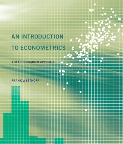 Introduction to Econometrics A Self-Contained Approach  2013 edition cover