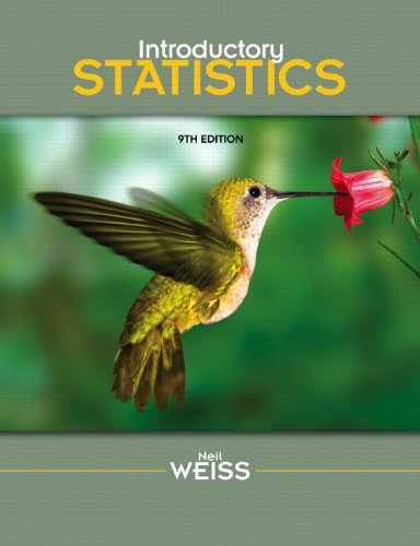 Introductory Statistics  9th 2012 9780321691224 Front Cover