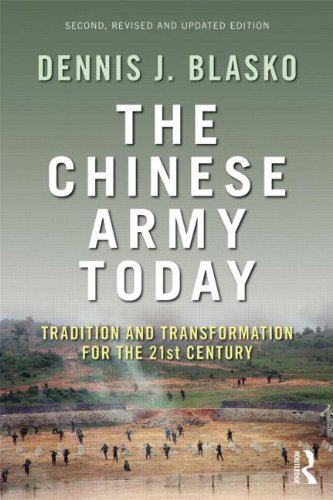 Chinese Army Today Tradition and Transformation for the 21st Century 2nd 2012 (Revised) edition cover