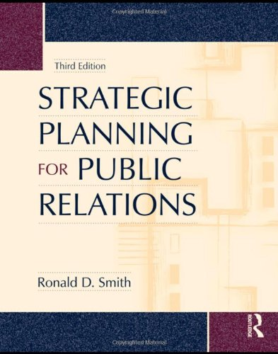 Strategic Planning for Public Relations  3rd 2009 (Revised) edition cover