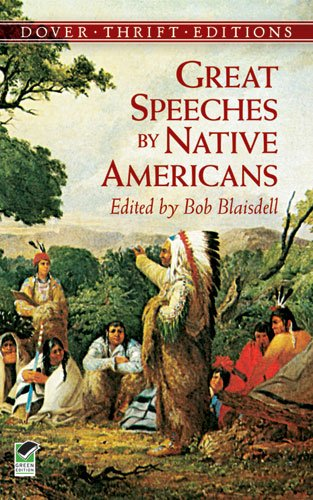 Great Speeches by Native Americans   2000 edition cover